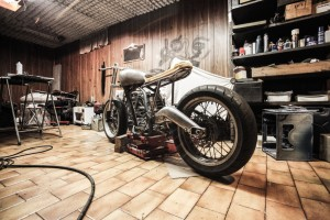 Rebuilding Motorcycle After an Accident