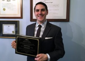 Matt Lager named as Erie's Outstanding Pro Bono Lawyer of 2017