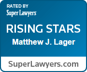 Matthew J. Lager, Super Lawyers Rising Star